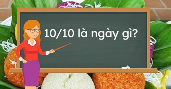 Ngày 10/10 là ngày gì